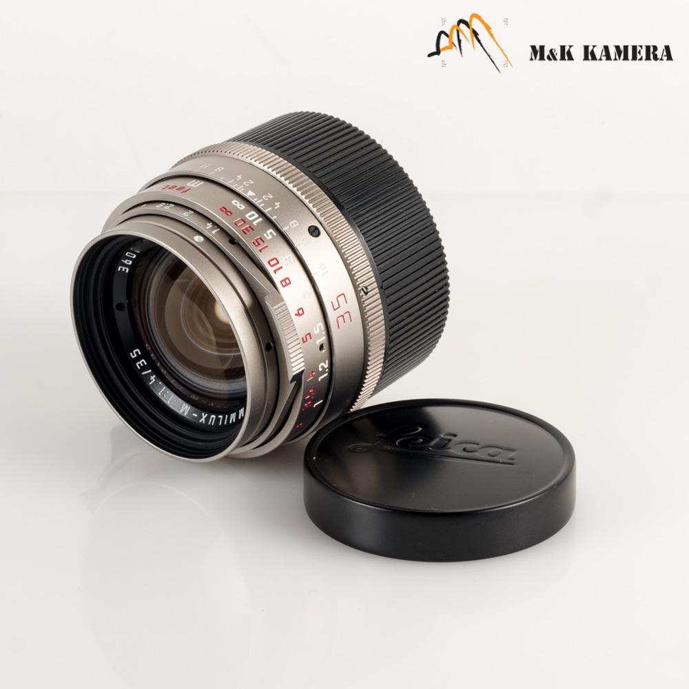 4c2a8d5d2b14 Leica Summilux M 35mm/F1.4 Pre-A Titan Lens Yr.1992 Germany #836 | eBay
